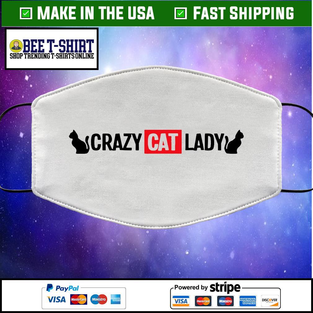Crazy cat lady face mask
