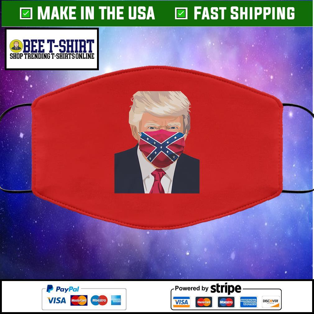 Donald Trump Florida Flag face mask red