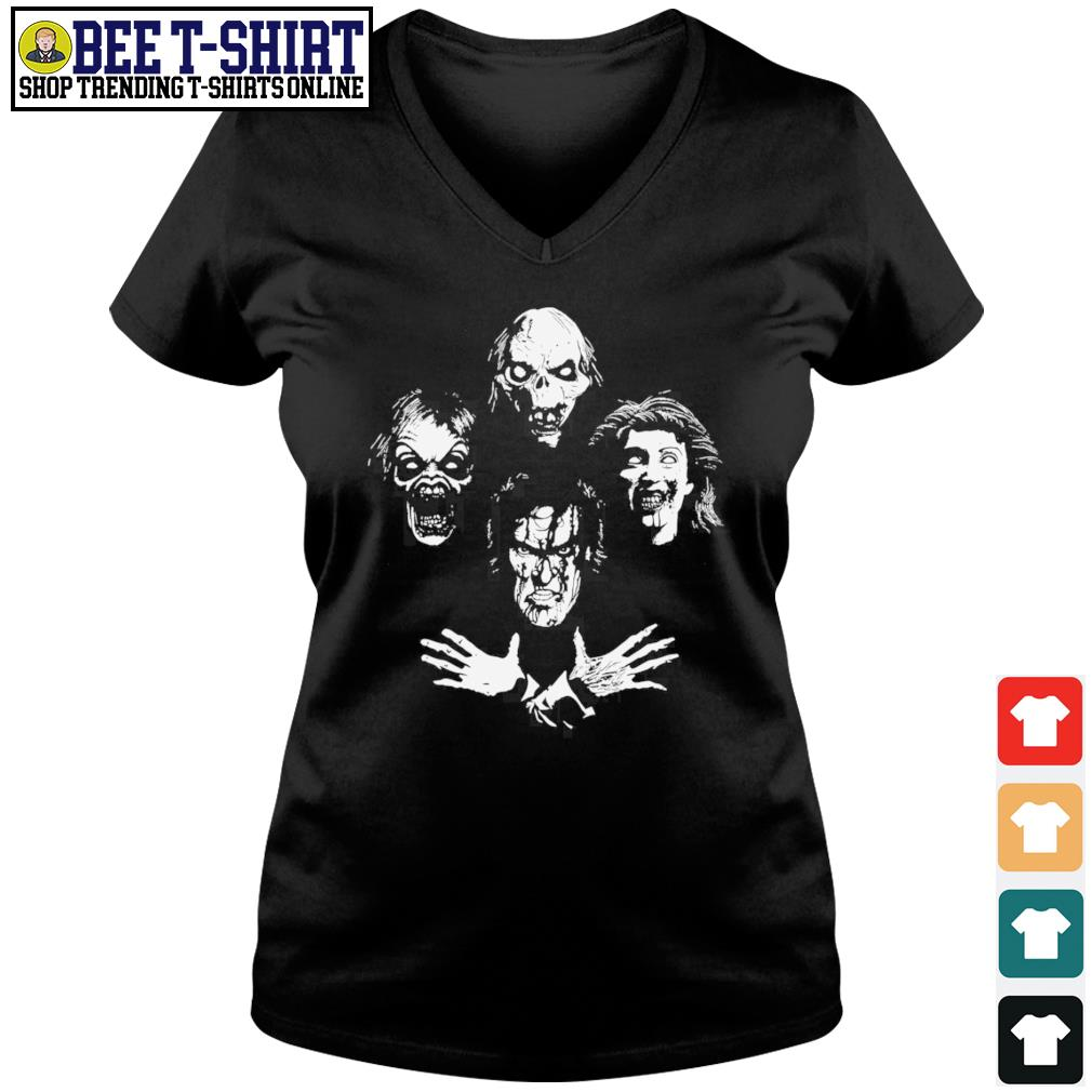 Evil Clown Rhapsody Halloween s v-neck t-shirt