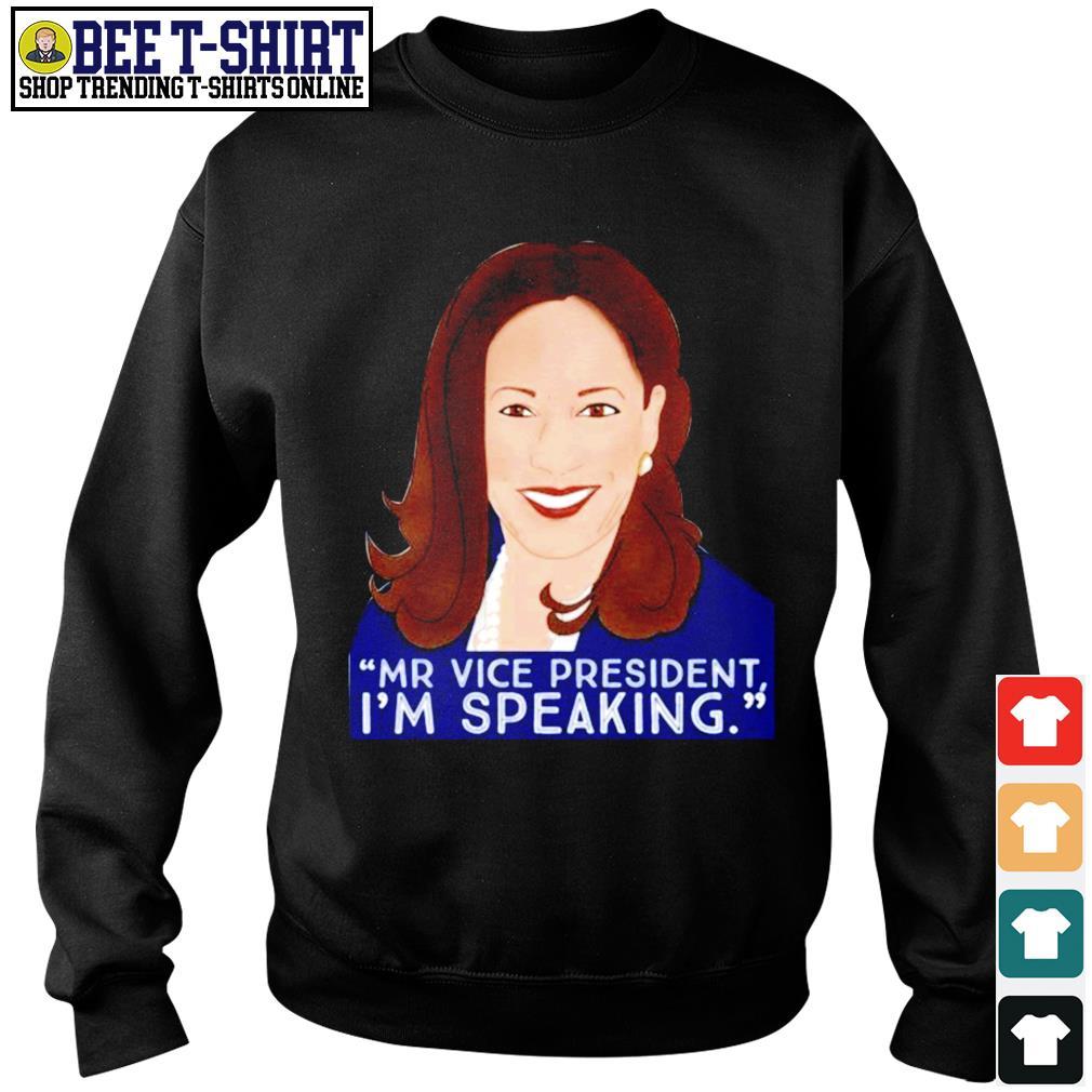 Kamala Harris Mr Vice president I'm speaking s sweater