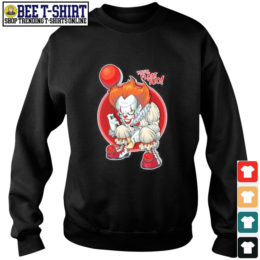 Pennywise you'll float too s sweater
