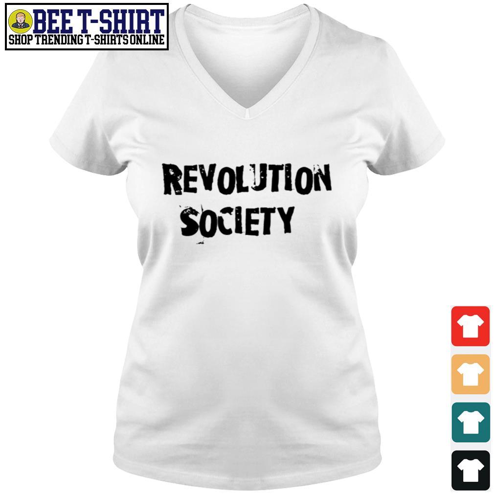 Revolution society Turbo s v-neck t-shirt