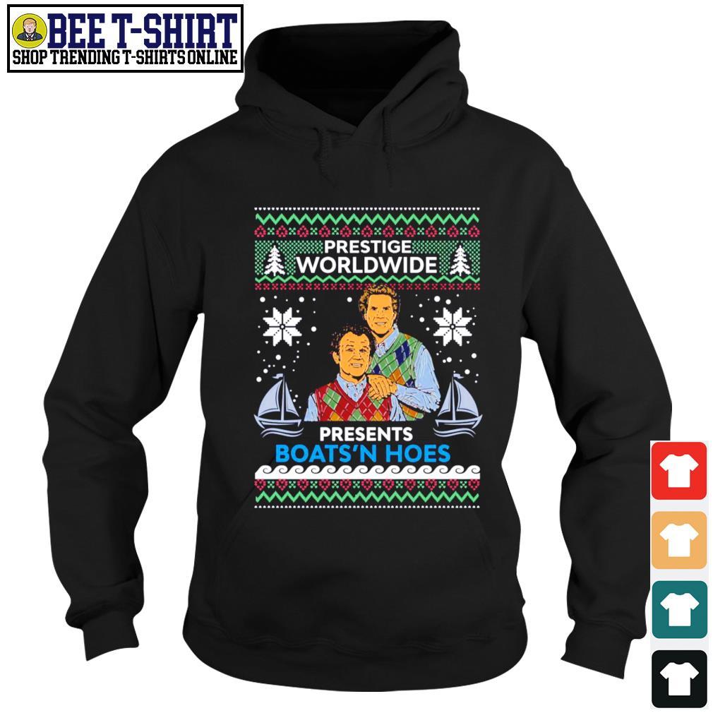 Step Brothers prestige Worldwide presents Boats'n hoes ugly Christmas s hoodie