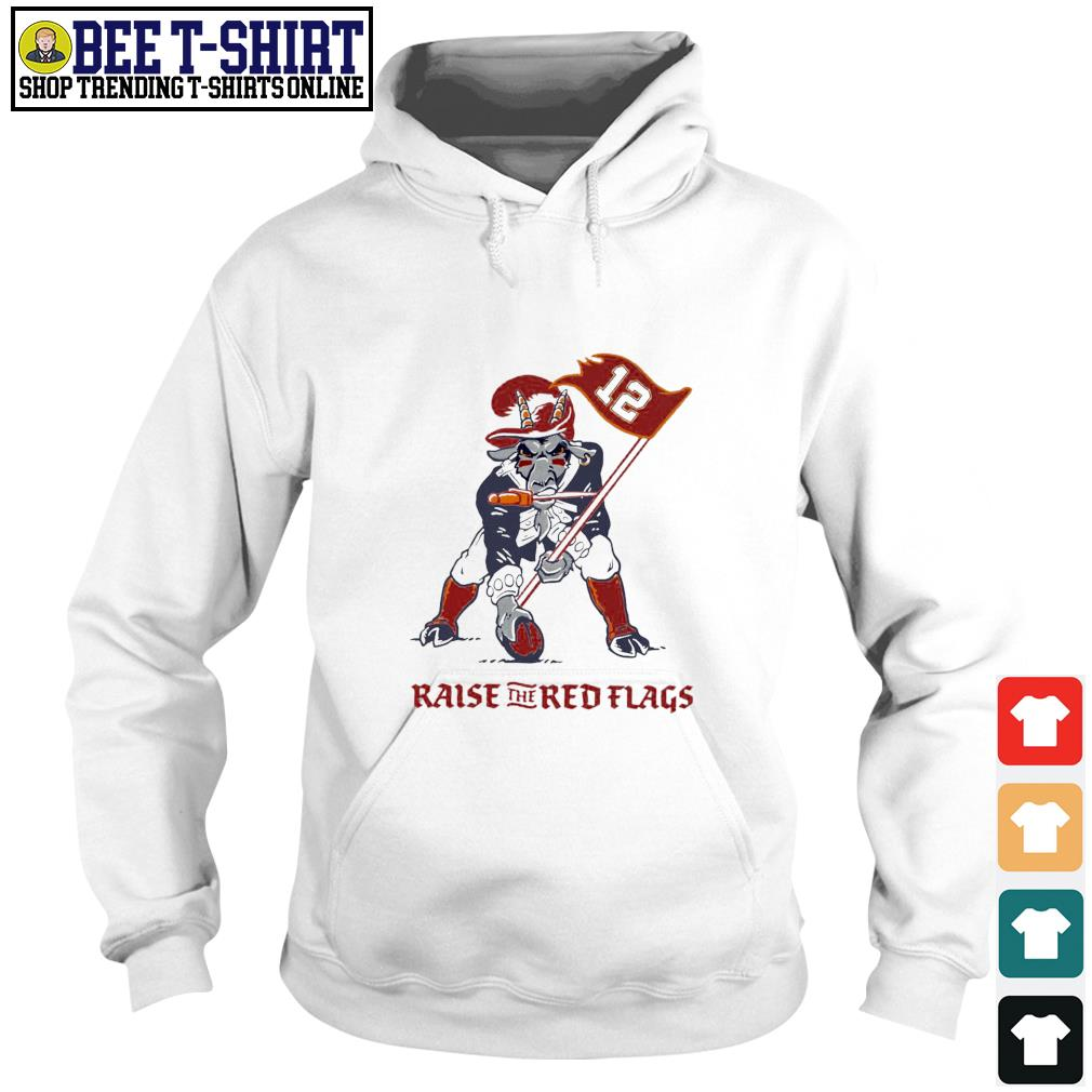 Buffalo Raise The Red Flags Tampa Bay Buccaneers s hoodie