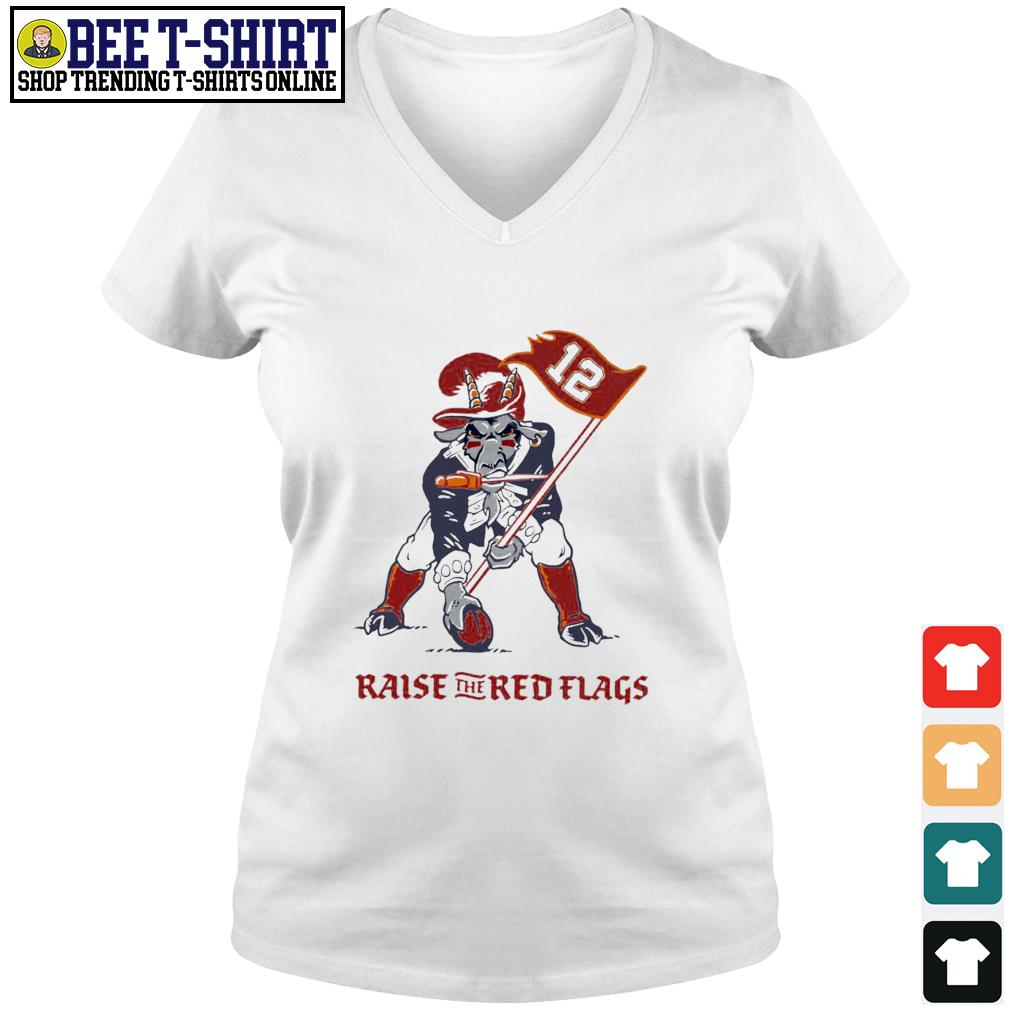 Buffalo Raise The Red Flags Tampa Bay Buccaneers s v-neck t-shirt