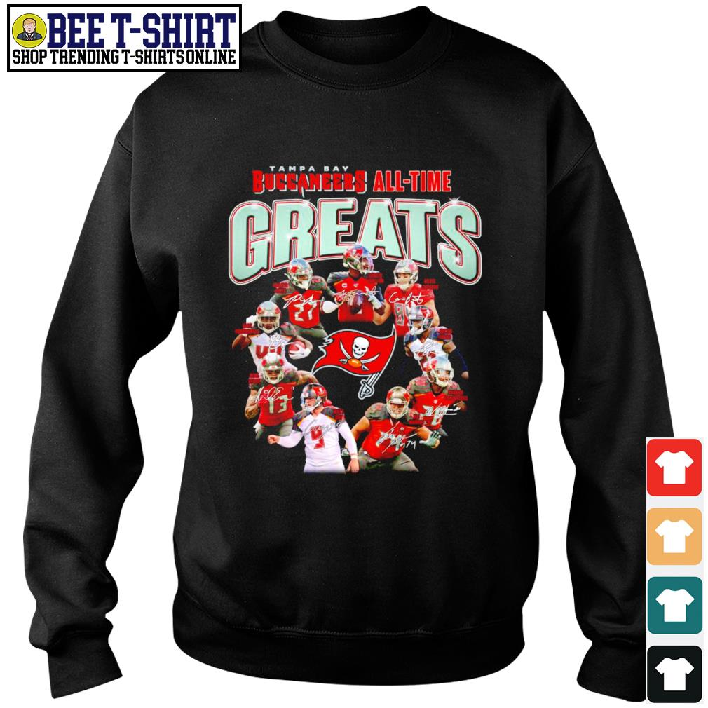 Tampa Bay Buccaneers all-time greats signatures s sweater