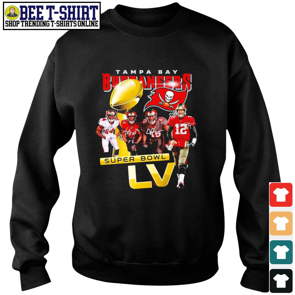Tampa Bay Buccaneers Super Bowl LV signatures s sweater