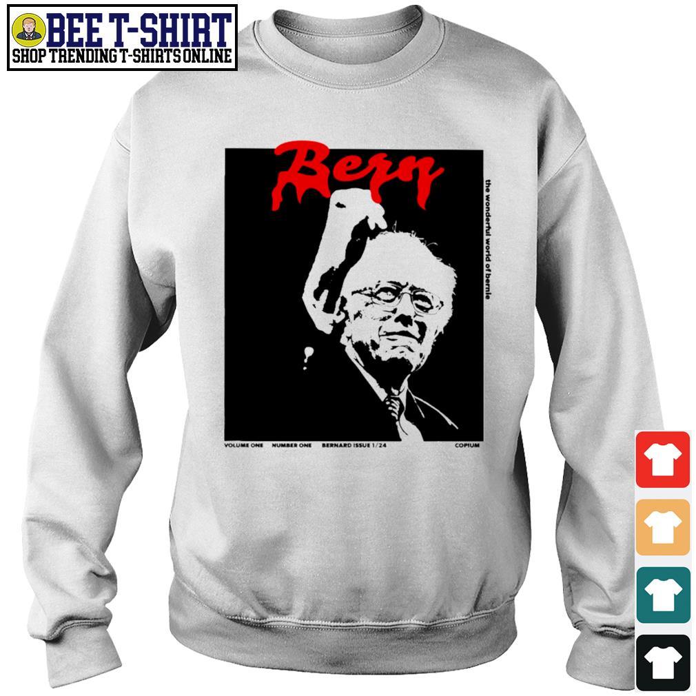 Whole Lotta Bernie mittens Bern s sweater